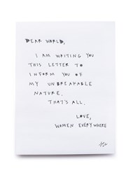Cleo Wade Dear World Limited Edition Print