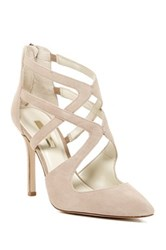 Bcbgeneration Torpido Cage Pump Wide Width Available Beige