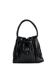 Giorgio Armani Vintage 2000'S Bucket Bag Black