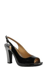 J. Renee Women's Calado Slingback Pump Black Fabric