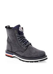 Moncler New Vancouver Scarpa Leather Hiking Boots Grey