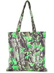 Phenomenon Camouflage Tote Green
