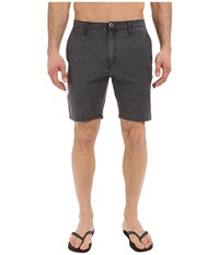 Volcom Snt Faded Hybrid Shorts Black Men's Shorts