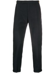 Thom Browne Selvedge Stripe Skinny Fit Trouser Blue