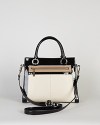 Karen Millen Tote Leather Colorblock Multicolour