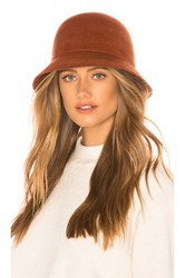 Brixton Essex Bucket Hat Rust