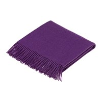 Bronte By Moon Alpaca Throw Amethyst