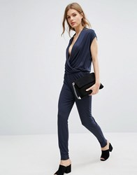 Selected Femme Silla Jumpsuit Navy