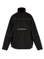 Balenciaga Windbreaker Ripstop Jacket Black