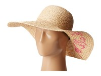 Hat Attack What's Your Motto Sun Natural Pink Rose All Day Caps Beige