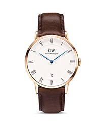 Daniel Wellington Dapper Bristol Watch 38Mm Rose Gold