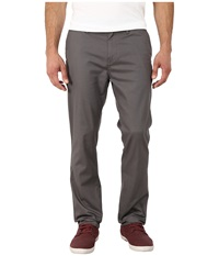 Quiksilver Union Pant Castlerock Men's Casual Pants Gray