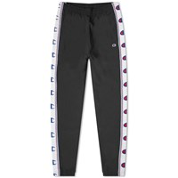 Champion Reverse Weave Taped Elastic Cuff Jogger Black