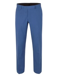 Aston And Gunn Denby Linen Tailored Trousers Electric Blue