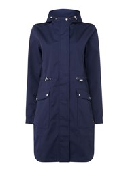 Joules Waterproof Gooded Parka French Navy
