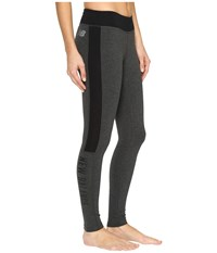 New Balance Trackster Leggings Heather Charcoal Women's Workout Gray