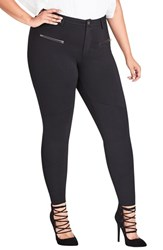 City Chic Plus Size Utilitarian Skinny Pants