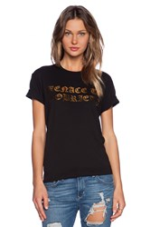 Brian Lichtenberg Menace To Sobriety Tee Black
