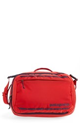 Patagonia Men's Tres 25 Liter Convertible Backpack Red Fire