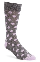 Lorenzo Uomo Men's Genova Dot Socks
