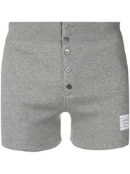 Thom Browne Light Grey Cotton Boxer Short