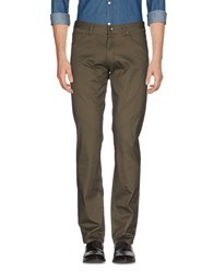 Geox Casual Pants Military Green