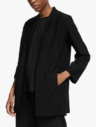 Eileen Fisher Lightweight Washable Jacket Black