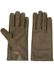 Maison Martin Margiela Classic Gloves Green