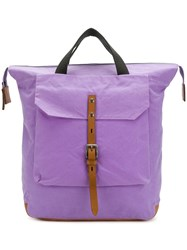 Ally Capellino Frances Backpack Pink And Purple