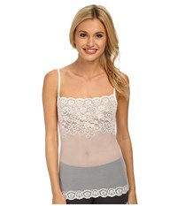 Commando Lace Cami Ca03 White Sleeveless