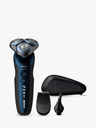 Philips S6650 48 Series 6000 Wet And Dry Electric Shaver With Precision Trimmer And Nose Trimmer