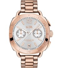 Coach Tatum Two Tone Steel Chronograph Watch