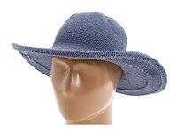 San Diego Hat Company Chl5 Floppy Sun Hat Denim Knit Hats Blue