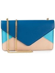 Chloe Chloe 'Envelope' Clutch Blue