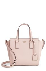 Kate Spade New York Cameron Street Small Hayden Leather Satchel Pink Warm Vellum