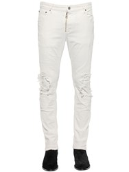 Just Cavalli 17Cm Destroyed Skinny Stretch Jeans