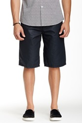 Antique Rivet Summer Coated Short Black