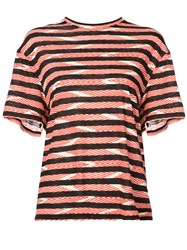 Proenza Schouler Short Sleeve T Shirt Red