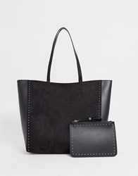 New Look Shopper Bag In Black