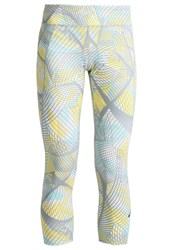 Asics 3 4 Sports Trousers Sea Light White