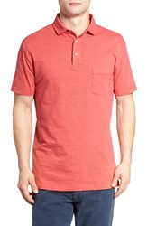 Rodd And Gunn Men's Mount Wilson Trim Fit Polo Rhubarb