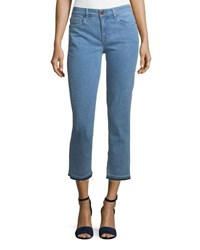 Parker Smith Cropped Straight Leg Jeans With Released Hem Juno