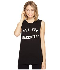 Project Social T See You Backstage Tee Black Women's Shirt