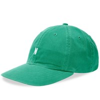 Norse Projects Twill Sports Cap Green