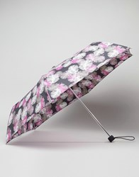 Fulton Superslim Falling Feather Print Umbrella Falling Feathers Multi