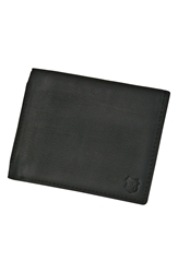 Andrew Marc New York 'Sheridan' Slimfold Wallet Black