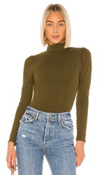 Tularosa Noemie Top In Olive. Army Green