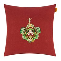 Etro Cartama Cushion 45X45cm Red
