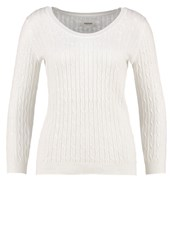 Zalando Essentials Jumper White Off White