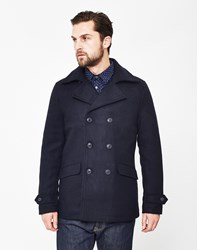 Only And Sons Jormun Peacoat Navy Black